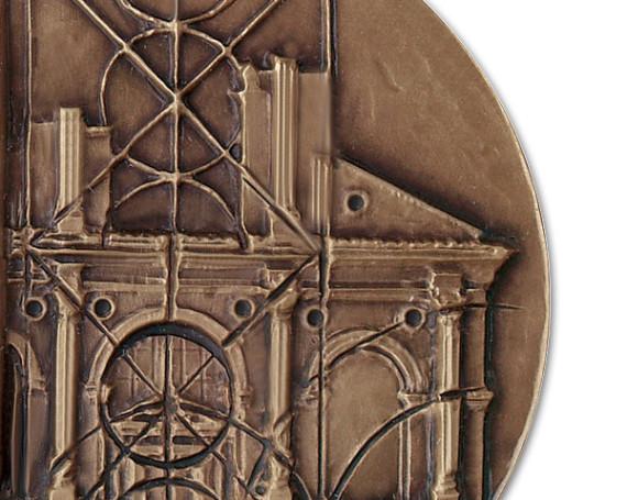 Medaglia a Leon Battista Alberti