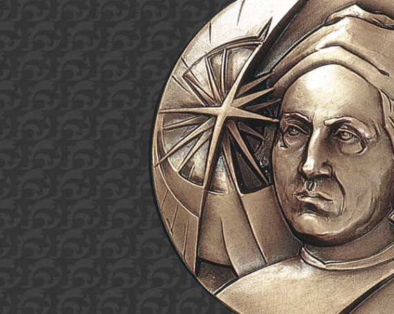 Medaglia a Cristoforo Colombo