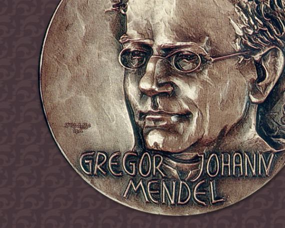 Medaglia a Gregorio Mendel